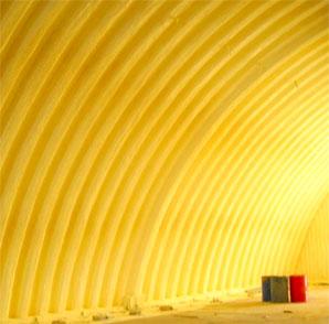 Утепление овощехранилища и зернохранилища пенополиуретаном